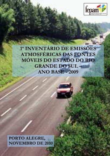 Clique aqui para acessar o Inventário de Emissões Atmosféricas