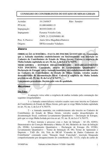 Microsoft Word - 19134093\252.doc - Secretaria de Estado de ...