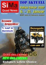 Quad & ATV des Jahres - VONBLON MASCHINEN GMBH