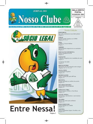 Jornal COPM - Ano XV - Nº166 - Agosto 2010 - By ConsulteWeb!