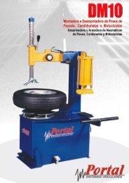 Montadora e desmontadora de rodas DM 10