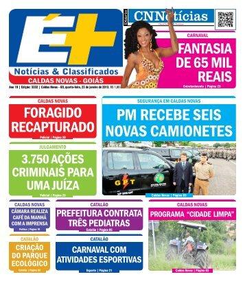 PM RECEBE SEIS NOVAS CAMIONETES - Caldas Novas