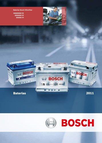 Catálogo de Baterias 2011 - Bosch