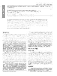 Estudo das emissões de fontes móveis na região - Química Nova