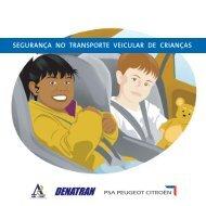 Segurança no Transporte Veicular de Crianças - Denatran