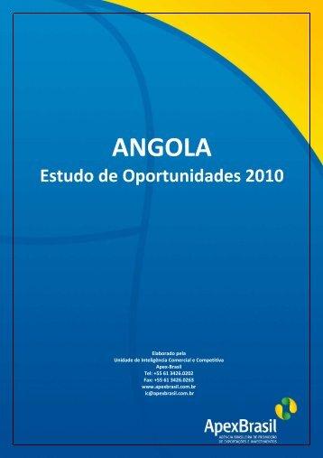 Angola - Estudos de Oportunidades 2010 - Apex-Brasil