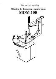 Montadora manual MDM 100.pdf - JM Máquinas Equipamentos