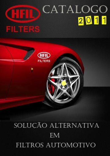 catalogo 2011 - Hfil.com.br