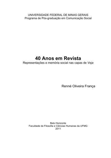 40 Anos em Revista - Biblioteca Digital de Teses e Dissertações da ...