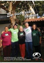 Revista Eu Visto esta Camisa - Família de Caná