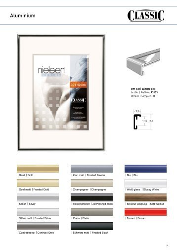 Zum Katalog Nielsen Design Classic   Voss Sylt