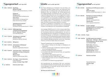 Tagungsverlauf am 25. April 2012 - VPK
