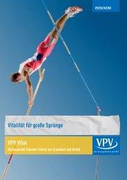Vitalität für große Sprünge VPV Vital - VPV Versicherungen