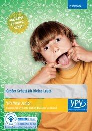 Großer Schutz für kleine Leute VPV Vital Junior - VPV Versicherungen