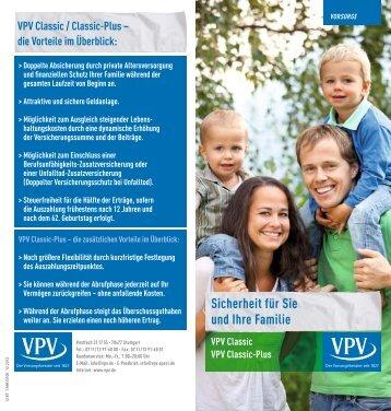 Sicherheit für Sie und Ihre Familie - VPV Versicherungen