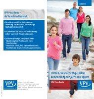 VPV Plus-Rente
