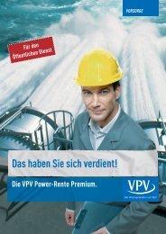 DashabenSiesichverdient! - VPV Versicherungen