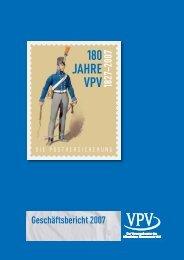 Geschäftsbericht 2007 - VPV Versicherungen