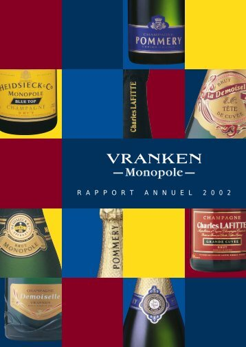 Rapport annuel 2002 - Pommery