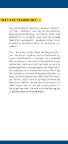 Vorsicht Skimming! - Polizeiliche Kriminalprävention der Länder und ... - Seite 2