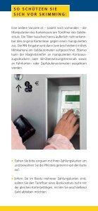 Vorsicht Skimming! - Polizeiliche Kriminalprävention der Länder und ... - Seite 5