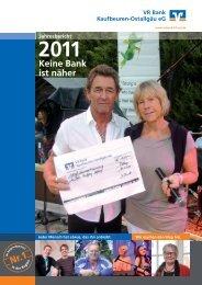 Download Geschäftsbericht 2011 als PDF-Datei - VR Bank ...