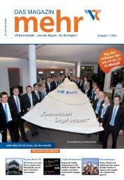 Das Magazin - VR Bank eG, Niebüll