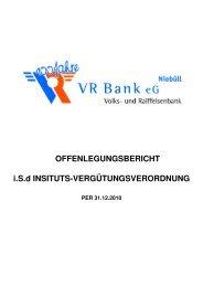 mehr - VR Bank eG, Niebüll