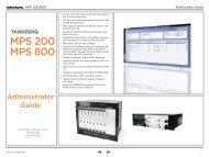 (Tandberg) MPS Admin Guide - Videoconferencia