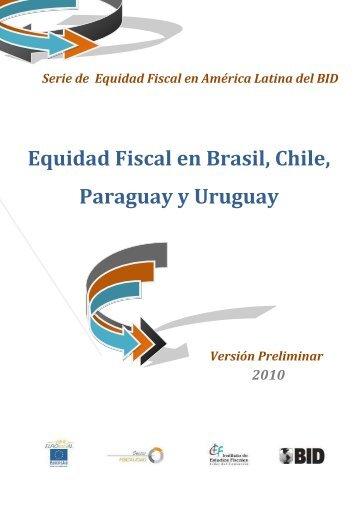 Equidad Fiscal en Brasil, Chile, Paraguay y Uruguay
