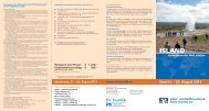 Details zum Reiseprogramm - Volks- und Raiffeisenbank Saale ...