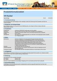 Produktinformationsblatt VR-Flexibel - VR-Bank Feuchtwangen ...