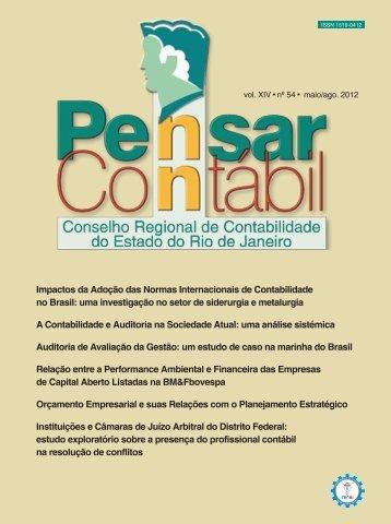 Impactos da Adoção das Normas Internacionais de ... - CRC-RJ