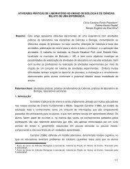 ATIVIDADES PRÁTICAS DE LABORATÓRIO NO ENSINO DE ... - NRE