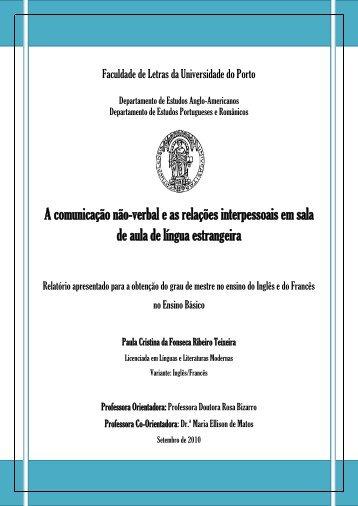 Fundamentation Pédagogique - Repositório Aberto da Universidade ...