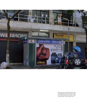 Arte no Espaço Urbano. Artigo de Lamonier Lucas in Concinnitas