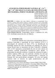 Tatiane Rodrigues Lima - PIBIC - Unir
