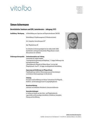 Simon Achermann - Vitalba