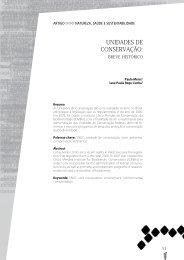 UNIDADES DE CONSERVAÇÃO: breve histórico ... - UNISULMA