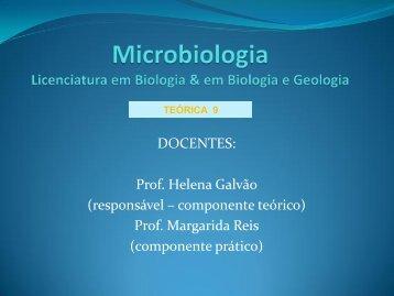 Microbial Biology II Módulo: Protozoários