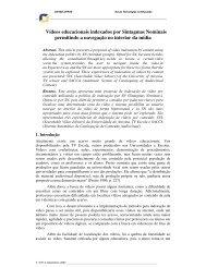 Vídeos educacionais indexados por Sintagmas ... - Cinted - Ufrgs