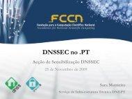 DNSSEC no .pt - dnssec .pt