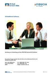 VR-NetWorld Software - VR-Bank Schwalm-Eder Volksbank ...
