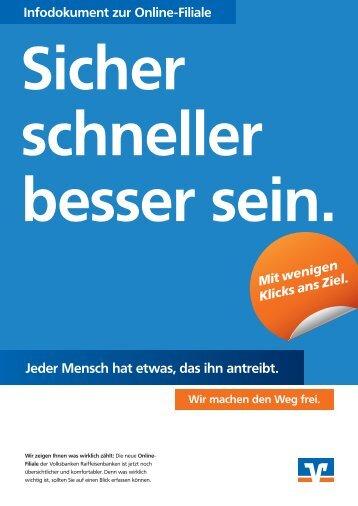 Anleitung Online-Filiale