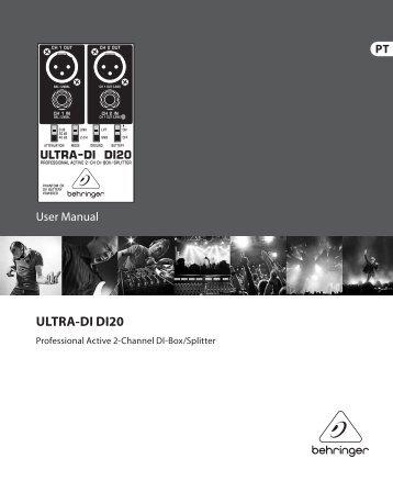 ULTRA-DI DI20 - Behringer