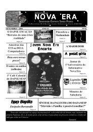 NOVA ERA - Sociedade Espírita Simão Pedro