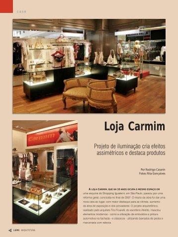 Loja Carmim - Lume Arquitetura