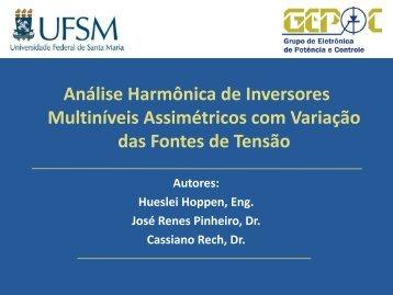 Análise Harmônica de Inversores Multiníveis Assimétricos ... - UFSM