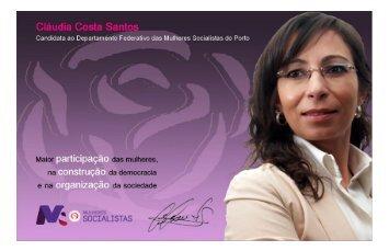 Cláudia Costa Santo - Partido Socialista