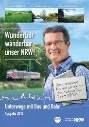Wunderbar wanderbar – unser NRW! - VRS